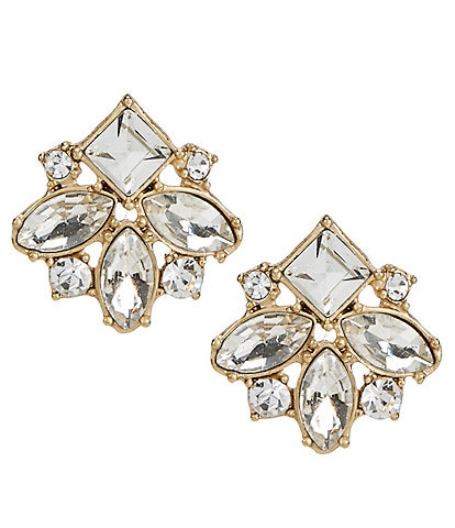 Belle Badgley Mischka Fancy Stud Earrings