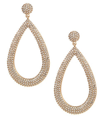 Belle Badgley Mischka Glamour Teardrop Earrings