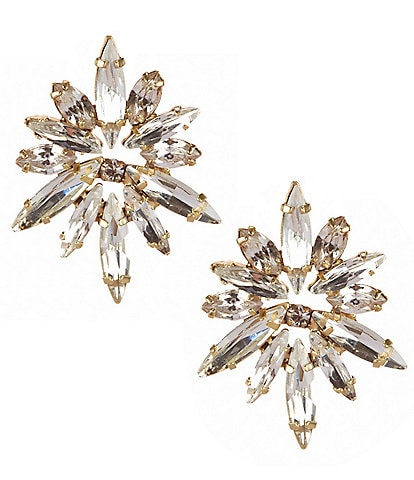 Belle Badgley Mischka Midnight Starburst Earrings