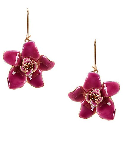 Belle Badgley Mischka Rose Drop Earrings