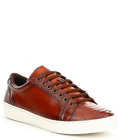 Belvedere Men's Anthony Leather Lace-Up Sneakers