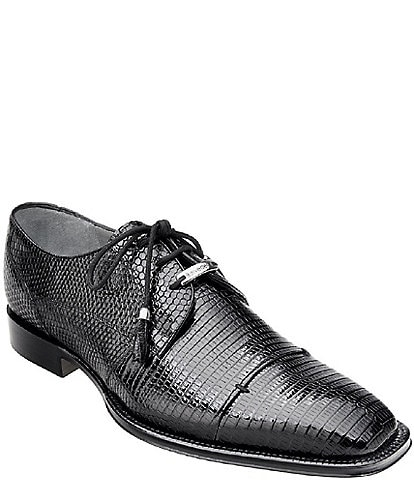 Belvedere Men's Karmelo Lizard Oxford