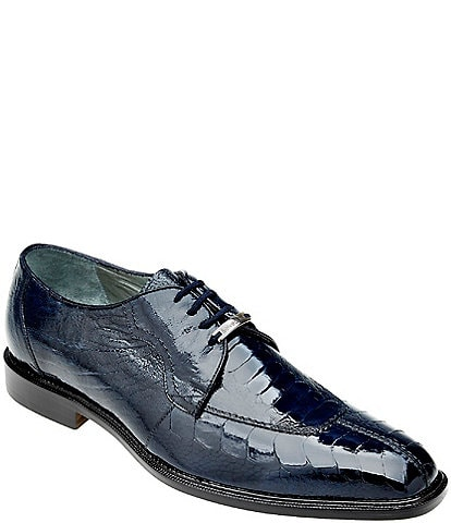 Belvedere Men's Siena Ostrich Oxford