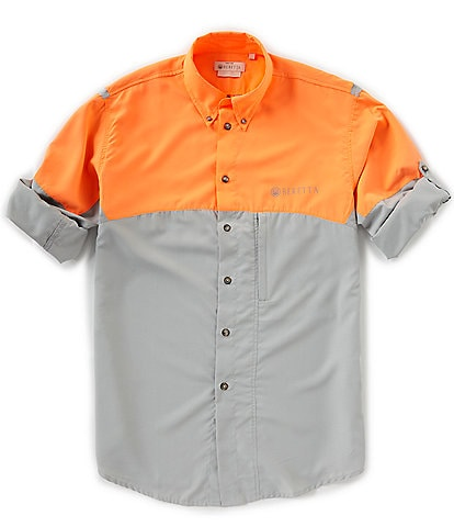 Beretta Color Block TM Tech Long-Sleeve Woven Shirt