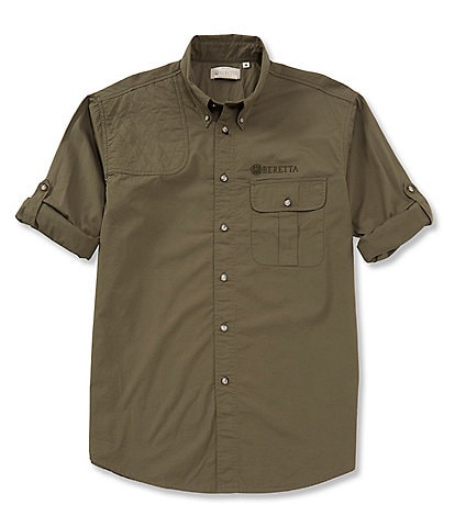 Beretta Roll-Up TM Shooting Long-Sleeve Woven Shirt