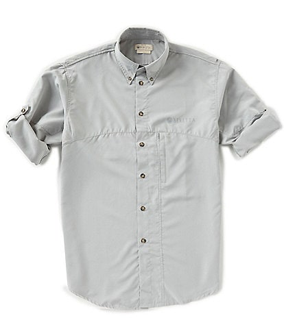 Beretta Solid TM Tech Long-Sleeve Woven Shirt