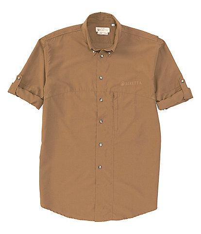 Beretta Solid TM Tech Long-Sleeve Woven Shirt