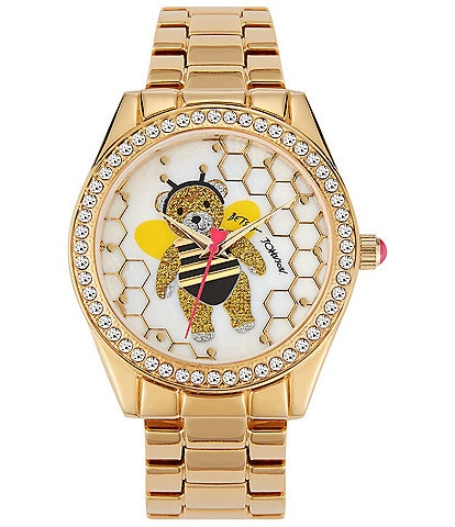 Betsey Johnson Bumble Bee Bear Watch