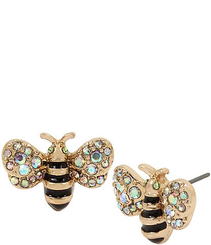 Betsey Johnson Bumble Bee Stud Earrings
