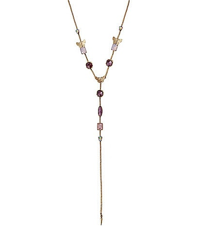Betsey Johnson Butterfly Y-Necklace