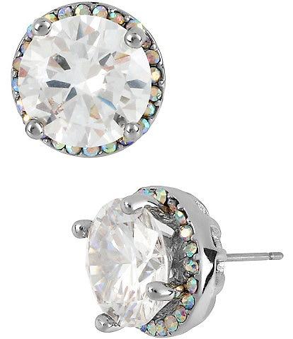 Betsey Johnson Crystal Stud Earrings