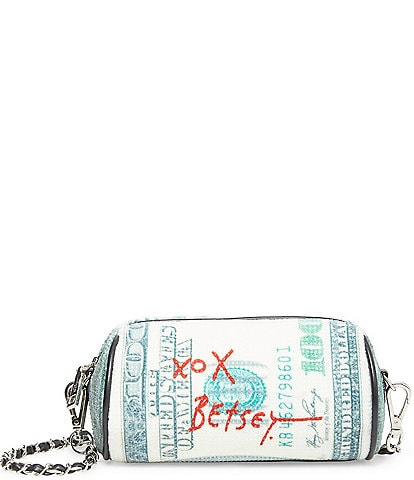 Betsey Johnson Money Roll Kitsch Crossbody Bag