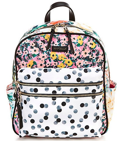 Betsey Johnson Nylon Prints Large Backpack