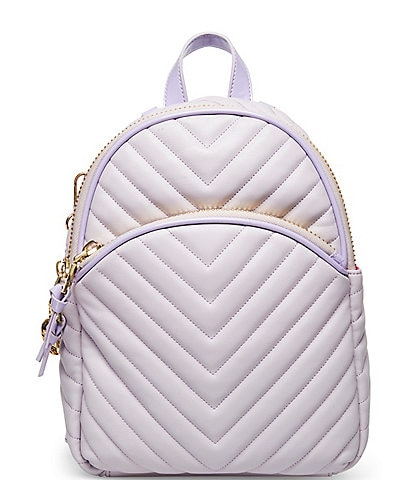 Betsey Johnson Pretty in Pastels Quilted Medium Backpack