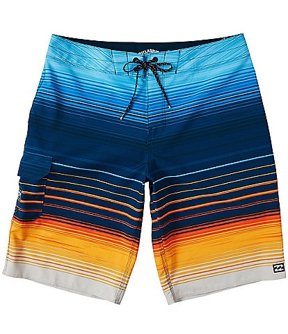 Billabong All Day Stripe Pro 21#double; Outseam Board Shorts