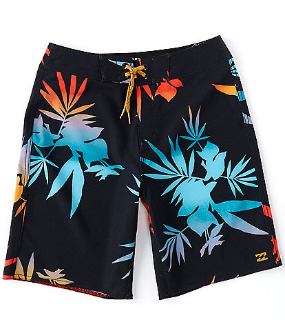 Billabong Big Boys 8-20 Floral Sunday Pro Board Shorts