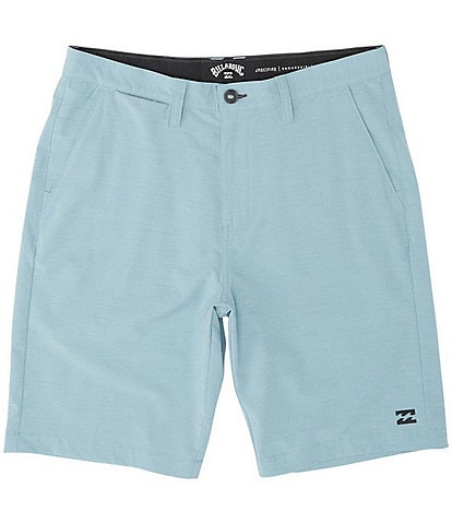 Billabong Crossfire Solid Slub Textured 21#double; Outseam Shorts