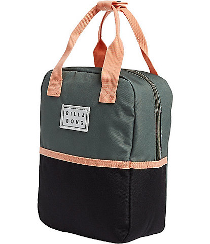 Billabong Don't Forget Canteen Color Block Insulated Lunch Tote
