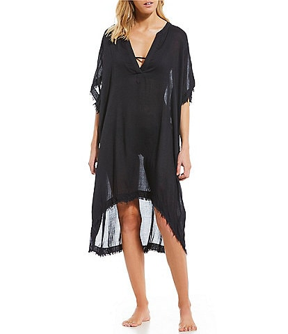 Billabong Found Love Oversized Cover Up Dress
