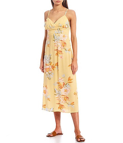 Billabong Honey Floral Midi Dress