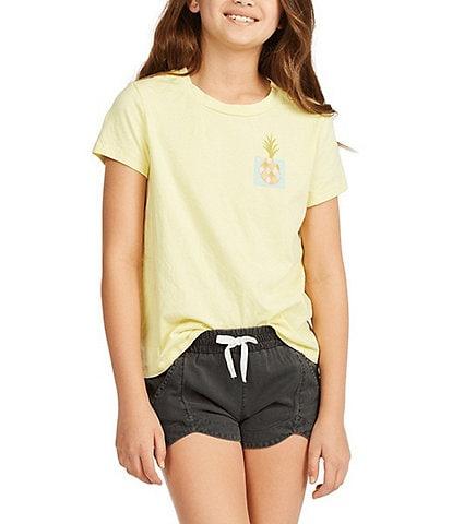 Billabong Little/Big Girls 5-14 Mad For You Shorts