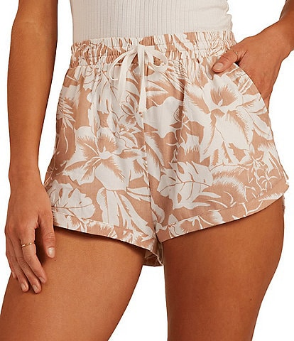 Billabong Road Trippin Floral Print Shorts