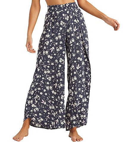 Billabong Wandering Soul Floral Pull-On Pants