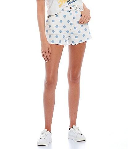 Billabong x Wrangler Showdown Five-Pocket Cut-Off Denim Shorts