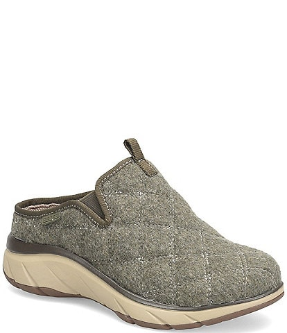 bionica Akina Quilted Wool Slippers