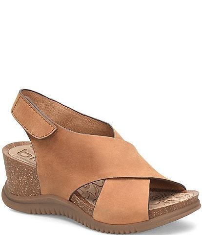 Bionica Gradie Water-Resistant Leather & Cork Sandals