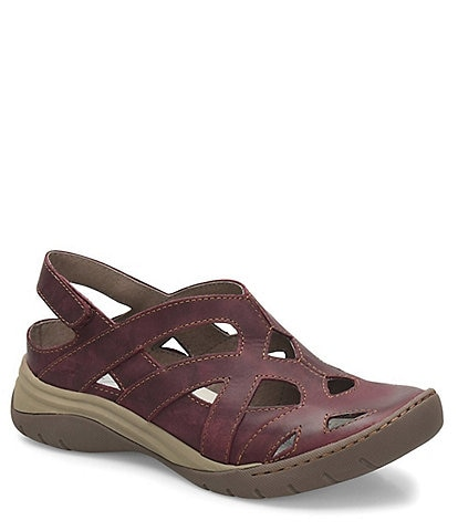 bionica Maclean Leather Slingback Clogs