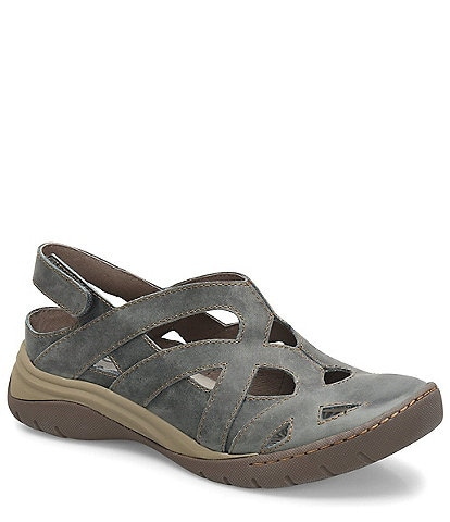 bionica Maclean Leather Slingback Water-Friendly Clogs
