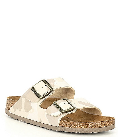 Birkenstock Women's Arizona Camo Double Buckle Strap Sandals