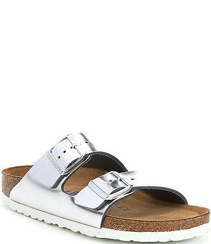 Birkenstock Arizona Double Banded Buckle Slip-On Sandals
