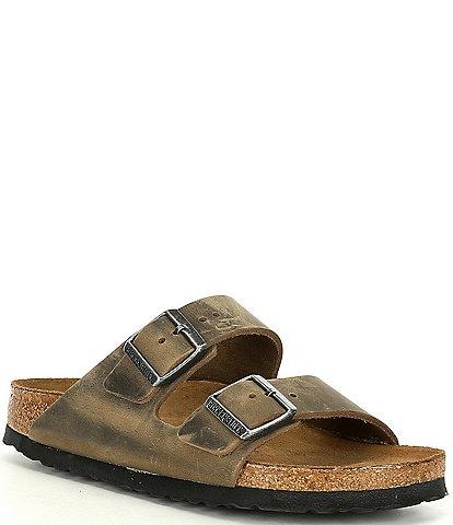 Birkenstock Women's Arizona Oiled Leather Soft Footbed Sandals
