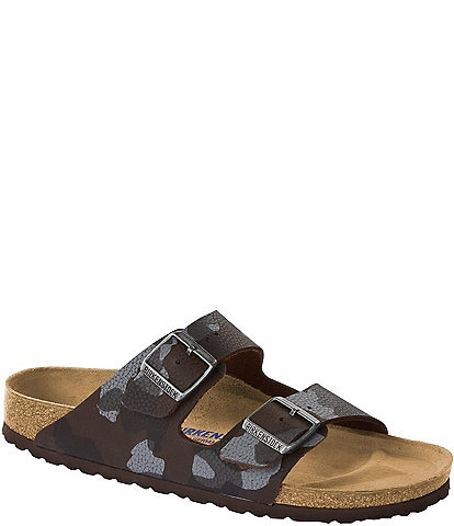 Birkenstock Camo Print Arizona Soft Footbed Slip on