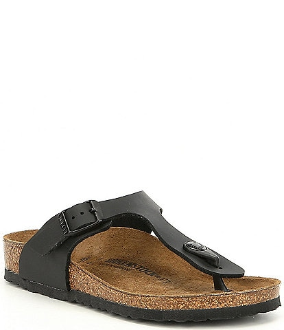 Birkenstock Girls' Gizeh Slide On Thong Style Buckle Sandals (Youth)
