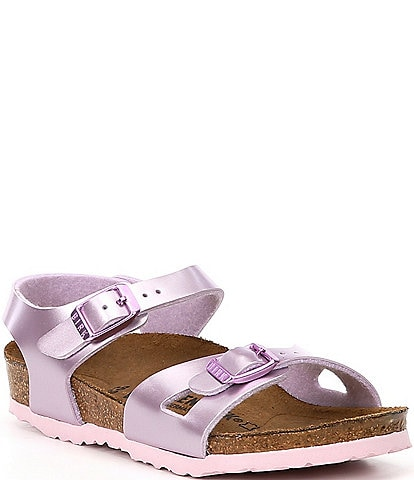 Birkenstock Girls' Rio Metallic Sandals Toddler