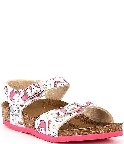 Birkenstock Girls' Rio Unicorn Sandals Infant