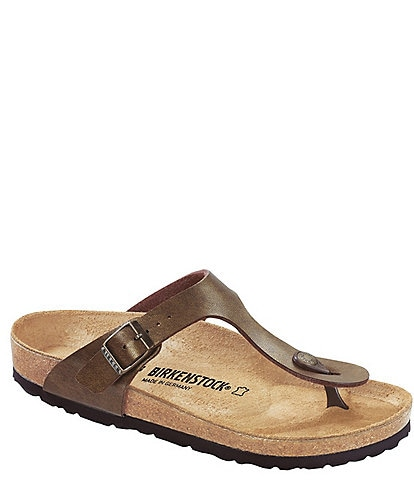 6d13fe4ff55 Birkenstock Gizeh Adjustable Strap Thong Sandals