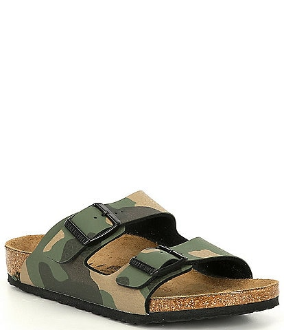 Birkenstock Kids' Arizona Camouflage Sandals (Youth)