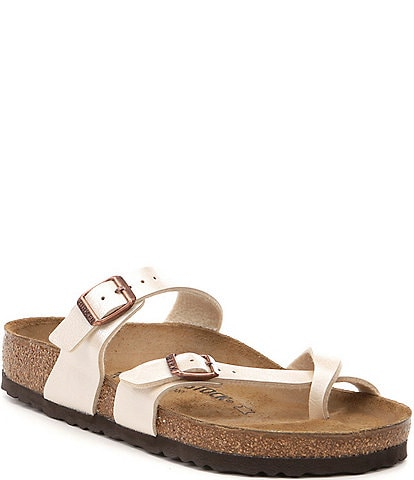 089c0d75b4426 Birkenstock Women's Mayari Adjustable Buckle Criss Cross Sandals