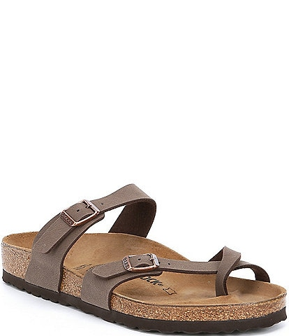 617b8fd64142 Birkenstock Women s Mayari Adjustable Buckle Criss Cross Sandals