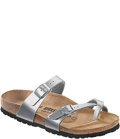 f4cba758fcc Birkenstock Women s Mayari Adjustable Buckle Criss Cross Sandals