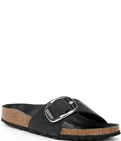 Birkenstock Women's Madrid Leather Big Buckle Sandals