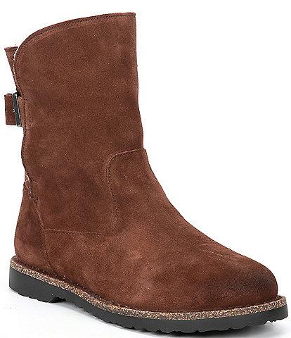 Birkenstock Women's Upsalla Suede Shearling Lined Boots