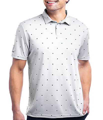 Black Clover Lucky Fit Short-Sleeve Cloverfield Dri-Balance™ Polo