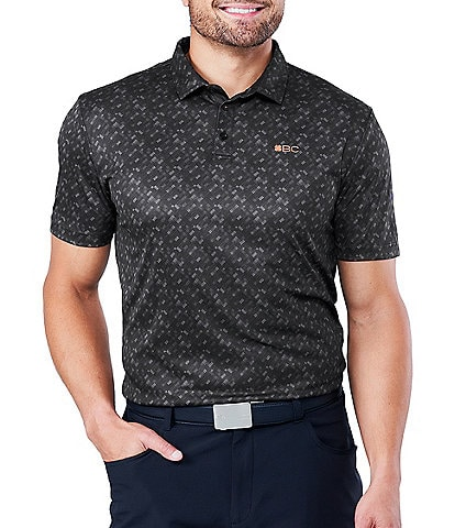 Black Clover Lucky Fit Short-Sleeve Stark Dri-Balance™ Polo
