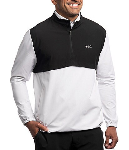 BLACK CLOVER Quarter Jacket Long-Sleeve Quarter-Zip Pullover
