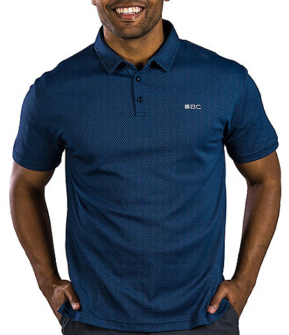 BLACK CLOVER Short-Sleeve Raindrops Golf Polo